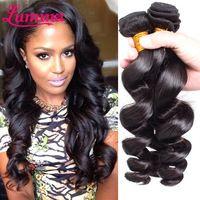 Hot!!! Malaysian Loose Wave Virgin Hair Malaysian Virgin Hair 4 Bundles Deals Lumina Hair Tissage Malaysian Hair Weave Bundles