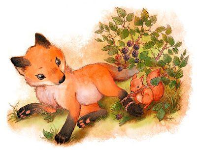 """lo scoiattolo erborista """"squirrel herbolist"""" http://kettyformaggio.blogspot.it/2015/10/lo-scoiattolo-erborista.html"""