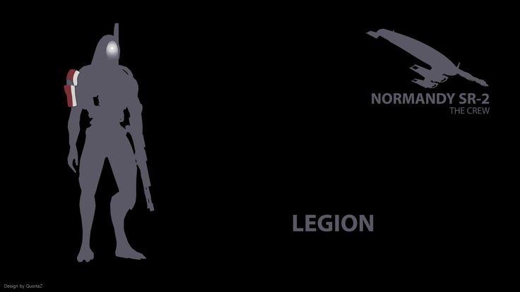 Mass Effect 2 Legion ''The Crew'' by QuortaZ on deviantART