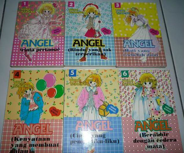 Angel - Yuka Takase (Gramedia 1995)