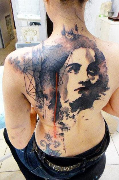 Abstract Tattoo by Xoil Tattoo - http://worldtattoosgallery.com/abstract-tattoo-by-xoil-tattoo-55/