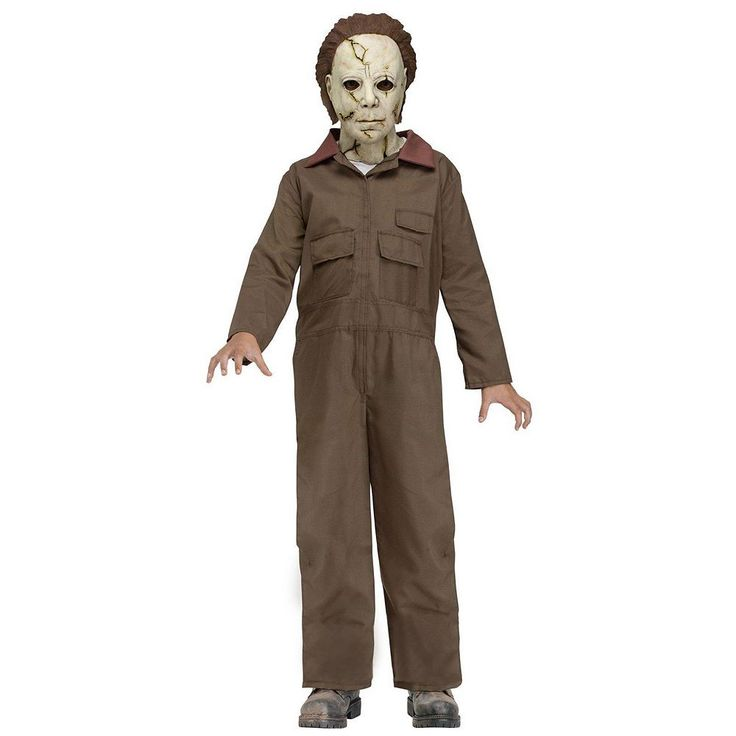 Michael Myers Costume - Kids, Boy's, Size: 12-14, Multicolor