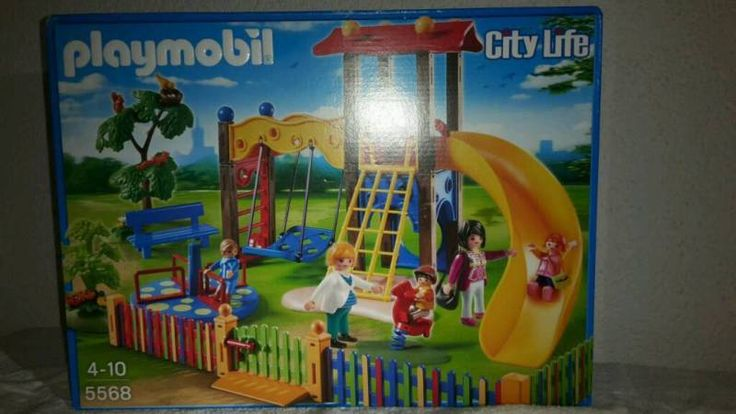 Verkaufe den Playmobil Kinderspielplatz 5568. Wie beschrieben, ist die Verpackung ungeöffnet. Wir...,Ungeöffnet!!! Playmobil 5568 Spielplatz in Bayern - Puchheim