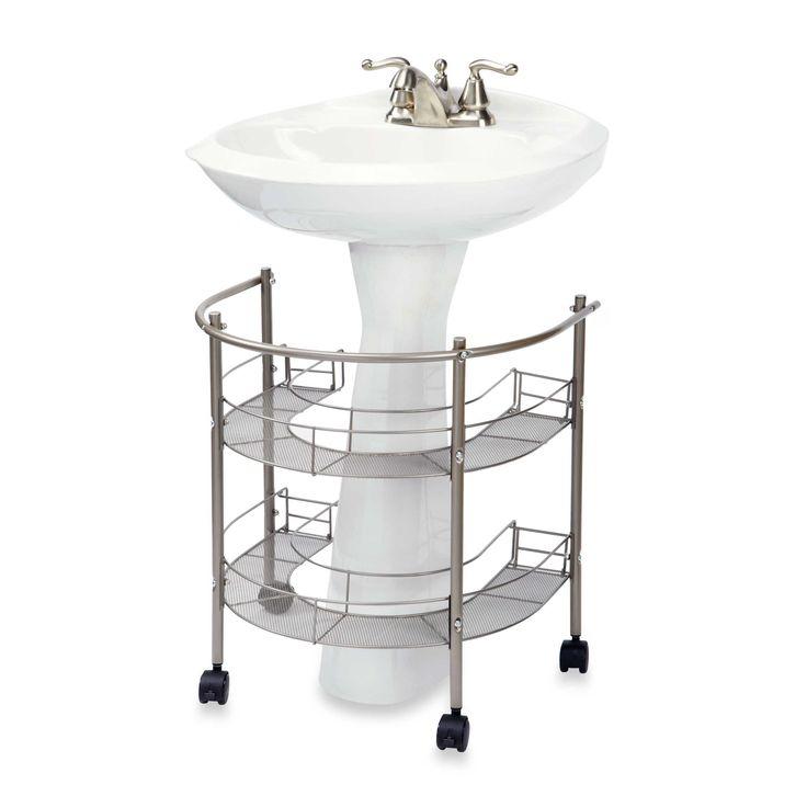 Best 25 Pedestal Sink Storage Ideas On Pinterest