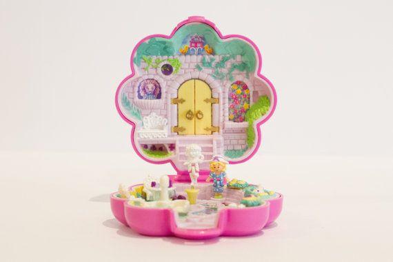1990 Vintage Polly Pocket - Complete - Garden Surprise - Keepsake Collection (Bluebird Toys)