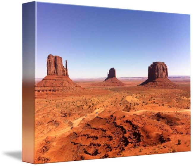 """""""Monument Valley"""" by Anne Berry-Smith, Adelaide //  // Imagekind.com -- Buy stunning fine art prints, framed prints and canvas prints directly from independent working artists and photographers."""