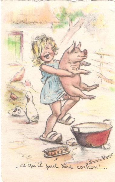 Ce qu'il peut être cochon !...
