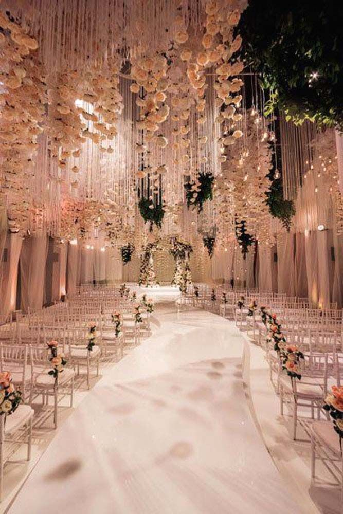 30 White Wedding Decoration Ideas ❤ See more: http://www.weddingforward.com/white-wedding-decoration-ideas/ #weddings