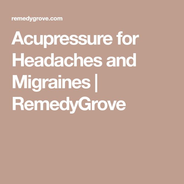 Best Natural Way To Get Rid Of Migraines