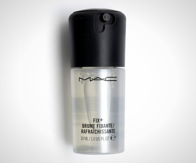 Airplane Beauty: 20 Must-Haves for Your Carry-on via Brit + Co...MAC Fix+ Travel Size ($10): For an instant glowing complexion, spray this vitamin-packed essence over your face and neck. Infused with a calm-the-skin blend of green tea, chamomile and cucumber, it's a must-have for a healthy glow, and you can apply above or below makeup.