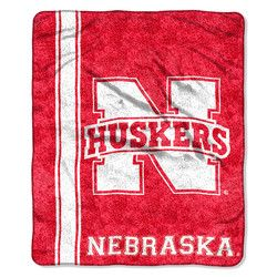 Nebraska Cornhuskers Blanket - 50x60 Sherpa - Jersey Design