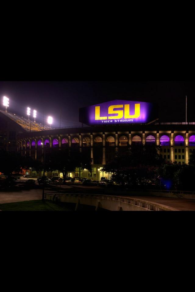 New LSU stadium...GEAUX TIGERS!
