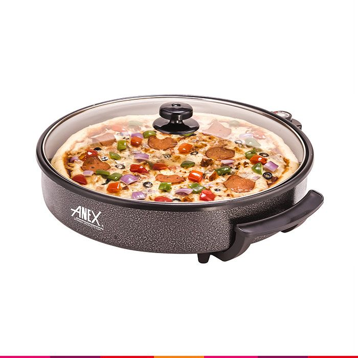 Anex Pizza Pan AG-3064 (40CM) Anex your trusted German brand is fully Guaranteed. Anex a product of Gemany is known for its good quality products in reasonable price. It has great range of products used…