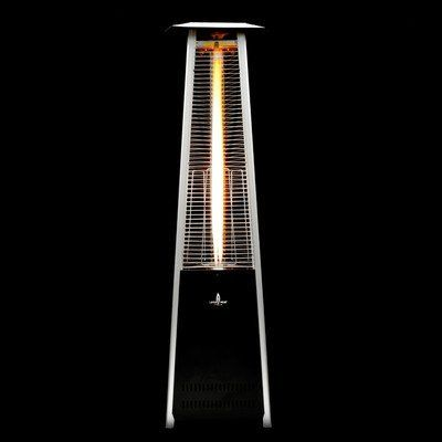 Lava Heat Italia Lava Lite Mi-5 Portable Outdoor Heater, Satin Black by Lava Heat Italia. $649.00. Flame is contained in a specially designed borosilicate shatter resistant glass tube. Provides a stunning focal point for your patio pool deck car park or other outside area. Adjustable flame and heat level control via onboard panel. Portable and stationary heater can be used year round for warmth and ambient lighting. A Lava Heat Italia Heater is not only a statement of st...