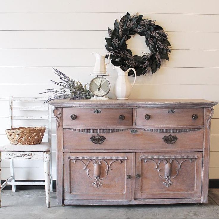 What a lovely piece this is by Finn and Bo! This was white-washed with General Finishes Snow White Milk Paint to tone down warmth and show off the natural beauty of the wood.
