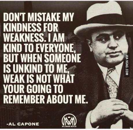 Al Capone. Certified Gangster.