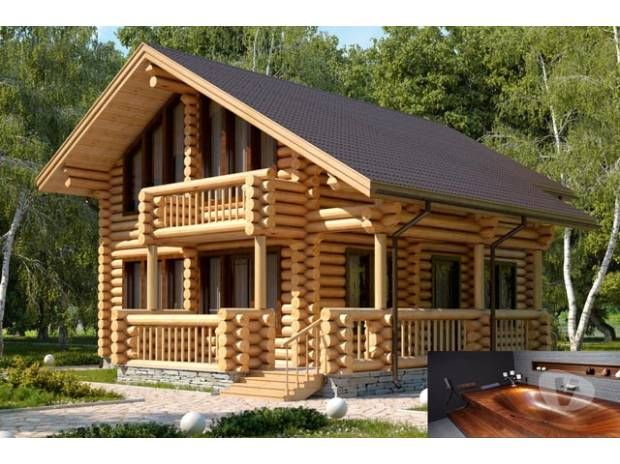 photos vivastreet maisons en bois rondin kit auto construction rt2012 purna construire sa. Black Bedroom Furniture Sets. Home Design Ideas