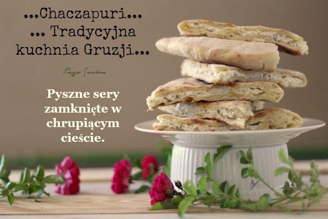 Poezja Smaków: Chaczapuri - gruzińska pizza z patelni (na szybko, bez drożdży).