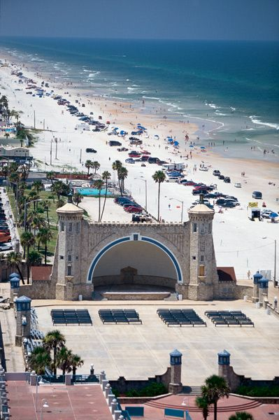 The Bandshell... Concerts, events and lots of beach lovers!