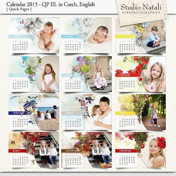 Calendar 2015 Color