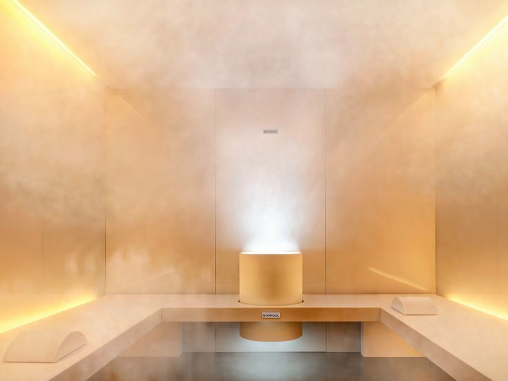 Chromotherapy Turkish bath