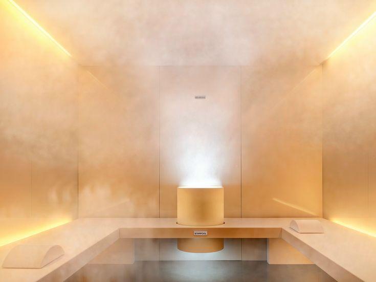 Chromotherapy Turkish bath