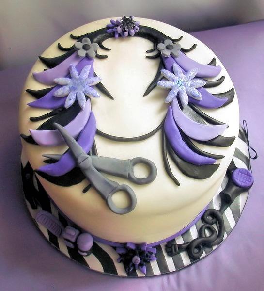 Cute hairdresser cake | Hairdresser | Pinterest ...