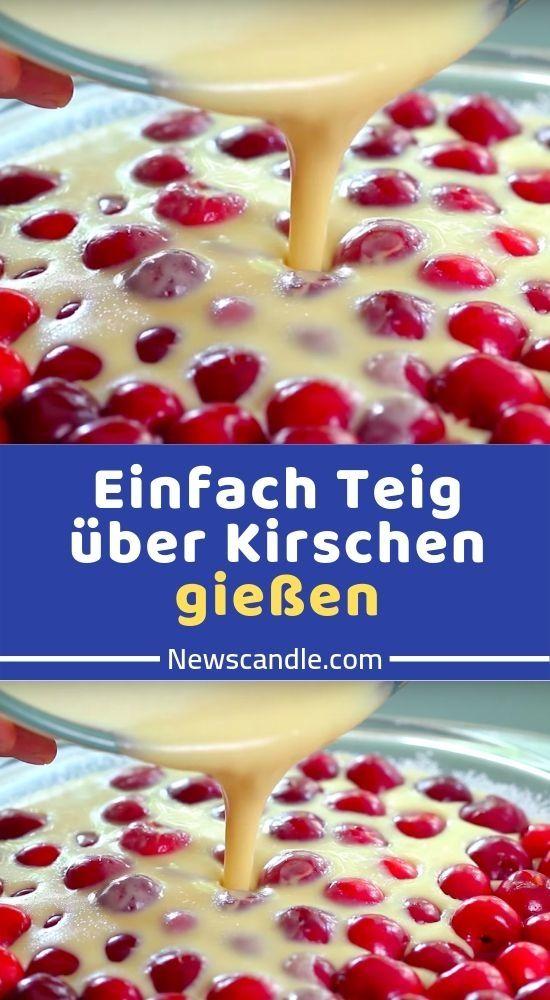 Was Sie brauchen: 240 ml Milch 3 Eier 100 g Zucker 1 TL Vanilleextrakt 50 g …   – Kuchen