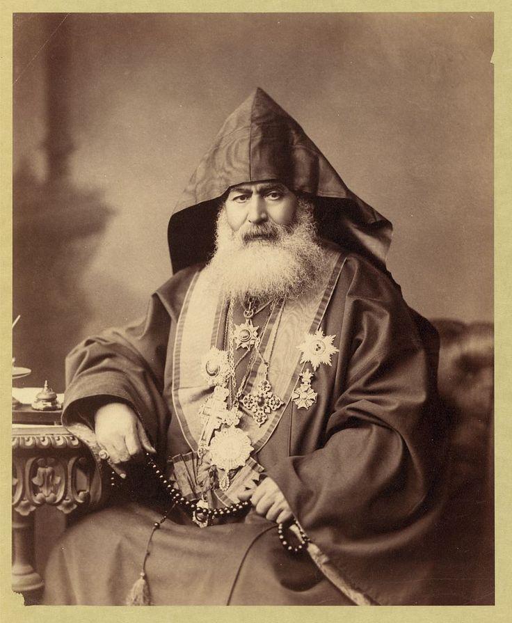 Harootiun Vehabedian, Armenian Patriarch of Jerusalem, 1900  http://en.wikipedia.org/wiki/Armenian_Patriarchate_of_Jerusalem