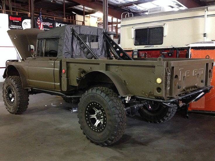 """offroaderize: """" Kaiser Jeep M715 """""""