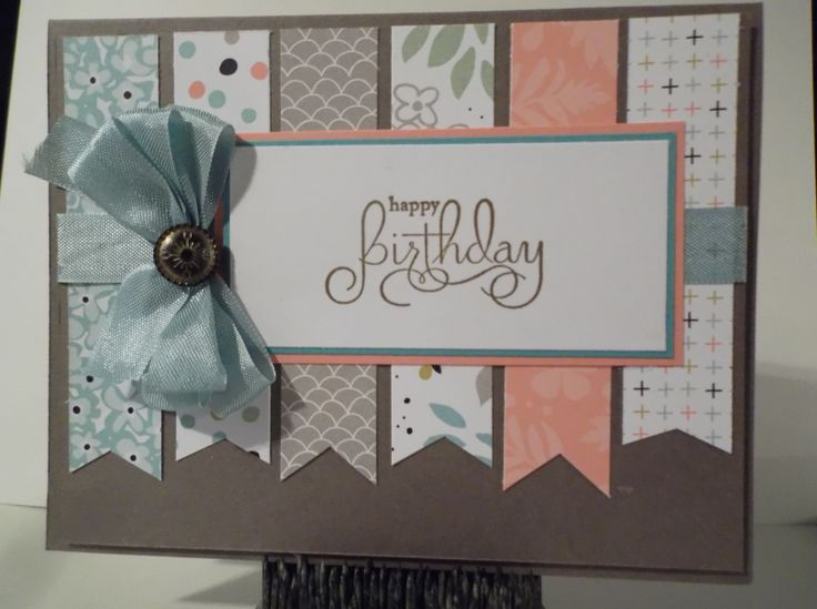 "Stampin Up paper pack ""Sweet Sorbet"""