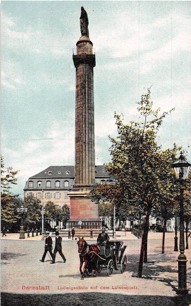 Darmstadt, Germany Early 1900s Postcards