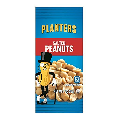 Planters Peanuts, Salted, 1-Ounce Bags (Pack of 144)