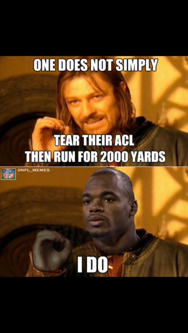 Adrian Peterson does :)