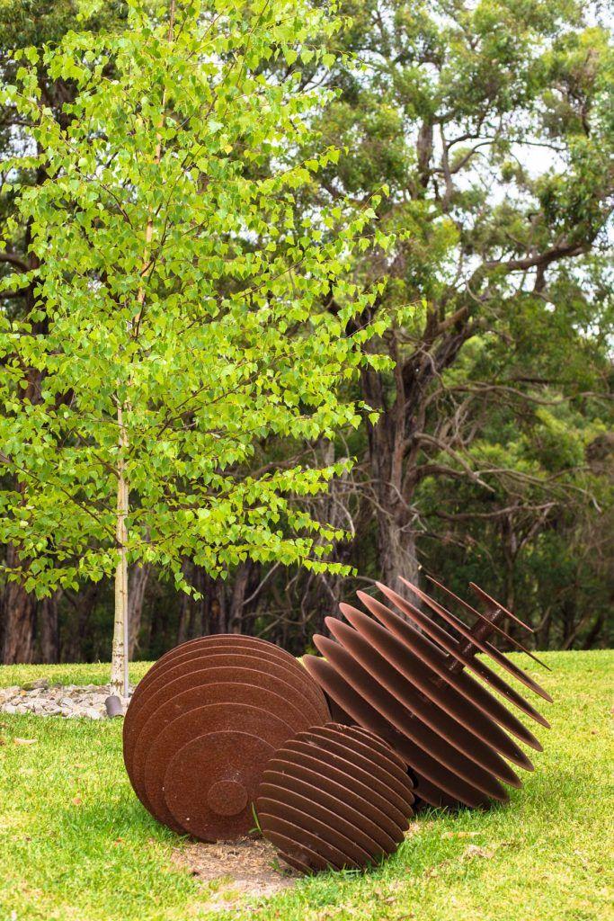 Metal Garden Sculptures On The Mornington Peninsula Recycled