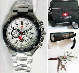 Jam Tangan Swiss Army 9868 Silver White / RP 800,000 | BB : 21F3BA2F | SMS :083878312537