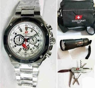 Jam Tangan Swiss Army 9868 Silver White / RP 800,000 | BB : 21F3BA2F | SMS :083878312537