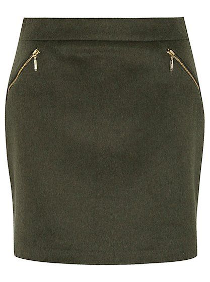 Zip Detail A-line Skirt, read reviews and buy online at George at ASDA. Shop from our latest range in Women. The flattering A-line cut of this skirt makes it...