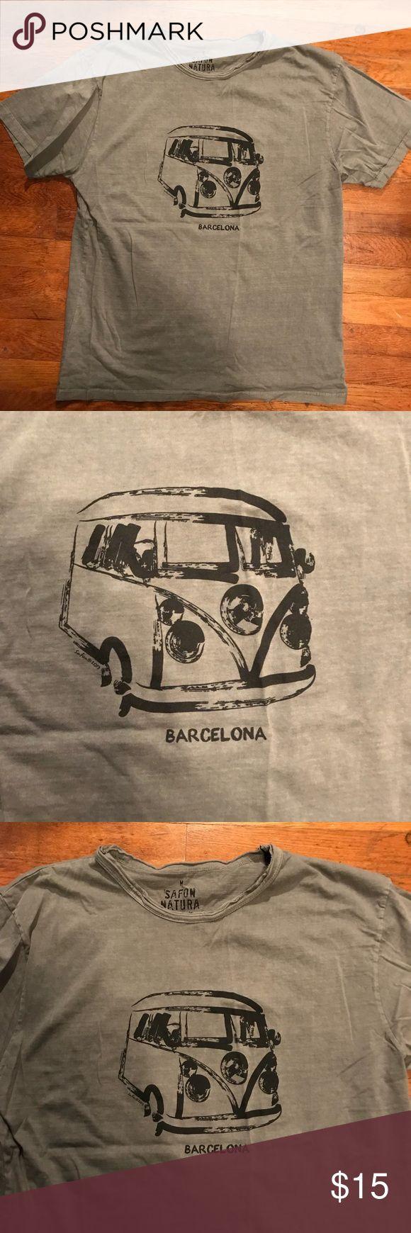 Barcelona T-Shirt Volts Wagon Van Barcelona T-Shirt    Never worn.  **from Barcelona, Spain Tops Tees - Short Sleeve