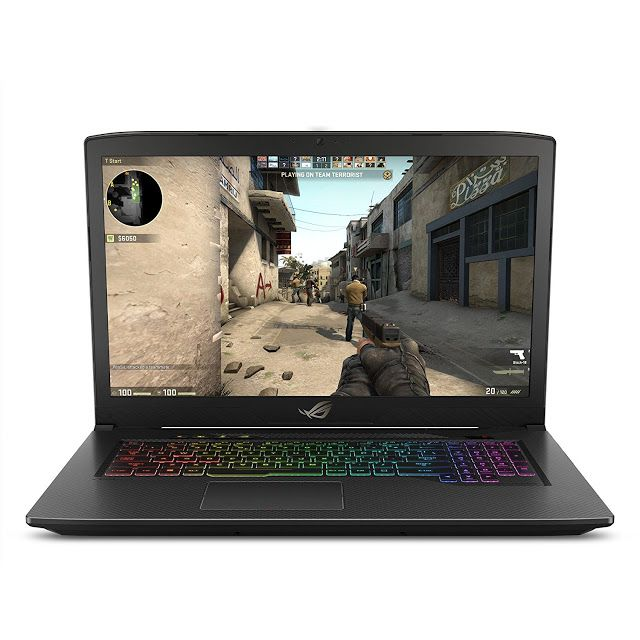 Asus Rog Strix Scar Edition Gl703ge Es73 17 3 Gaming Laptop 8th Gen 6 Core Intel Core I7 8750h Processor Up To 3 9ghz Gtx 1050 Ti 4gb 120hz 3ms Display 1 Best Gaming Laptop Intel Core
