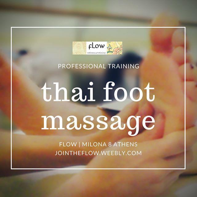 #ThaiFootMassage #Massagecourse in FLOW Athens, Greece | 70 euros only! #ThaiReflexology #LearnMassage #MassageSchool #FootMassage #Reflexology #MassageClass😍😄