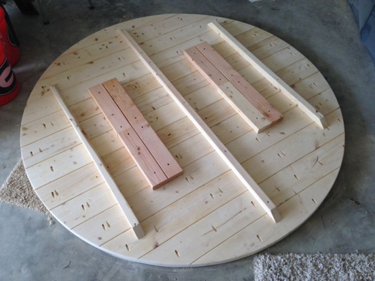 70 inch Circlular Table Top - Stringers