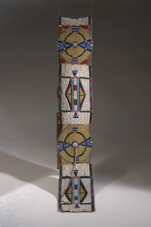Blanket Belt. Nez Perce. American Museum of Natural History