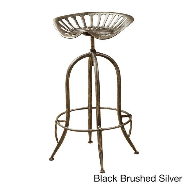Rancher Adjustable Bar Stool by Christopher Knight Home