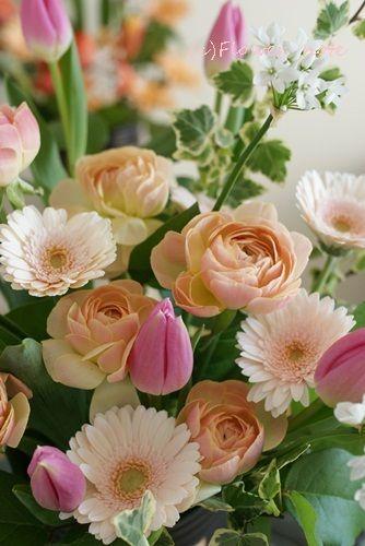『【出産の祝花】こんにちは♪赤ちゃん』http://ameblo.jp/flower-note/entry-11455480142.html