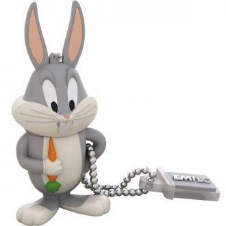 Emtec Pamięć USB Pendrive L104 8GB Bugs Bunny Pendrive o pojemności 8GB marki Emtec z licencjonowanej serii Looney Tunes. Model: Bugs Bunny.