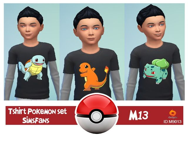 Pokèmon set starter by M13 at Sims Fans • Sims 4 Updates