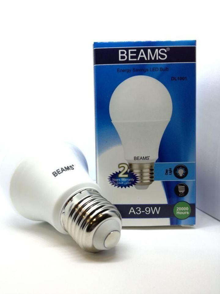 Daylight Led Bulbs: BEAMS LED BULBS 9W Daylight