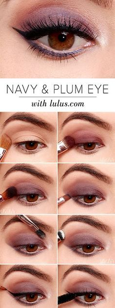 Makeup hacks, tips and tricks perfect for girls with brown eyes