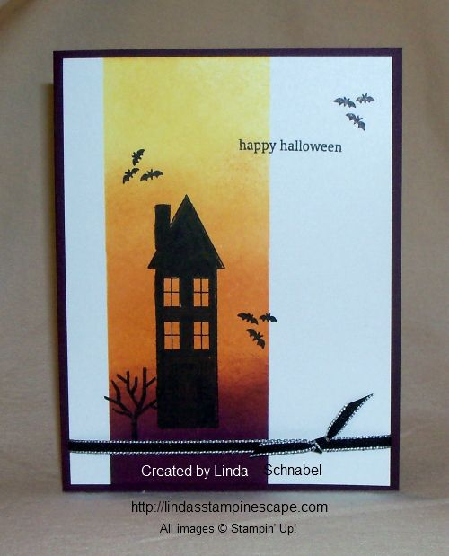 stampin up holiday catalog holiday home stamp set halloween card techniques - Stampin Up Halloween Ideas
